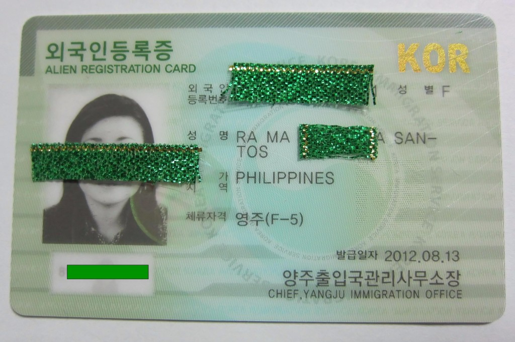 F-5: Permanent Residence Visa in South Korea