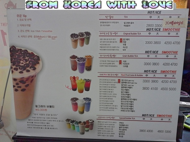 So many flavors to choose from... Uhm, what shall I order? ^^