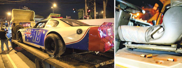 Pastor eas transporting a race car from Batangas to Pampanga, and had stopped at a traffic light when the gunman took his life. (Source: Manila Bulletin)